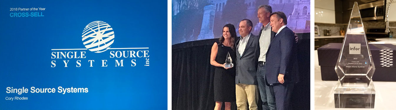 Single Source Named Infor's 2018 Cross-Sell Partner of the Year